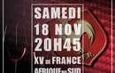 Soirée TAPAS pour la Retransmission Match France / All Blacks Au Gardanne Rugby Club